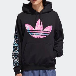 New Adidas Watercolor Hoodie Men's SZ. XL